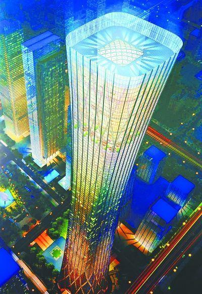"""北京第一高楼""""中国尊""""总投资达240亿元"""