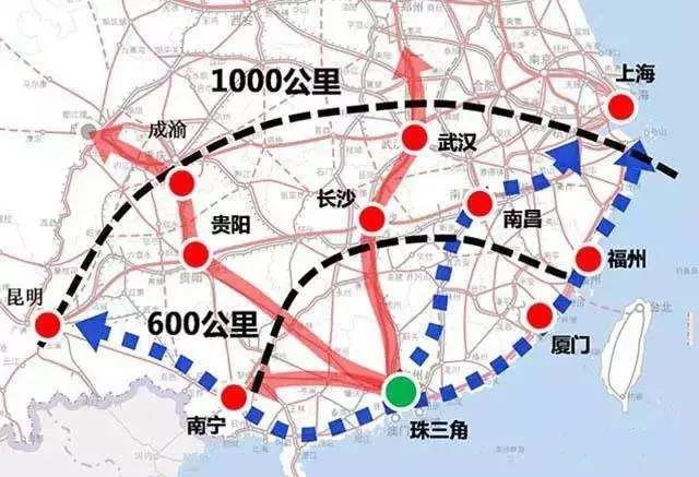 泛珠三角经济总量_泛珠三角地图