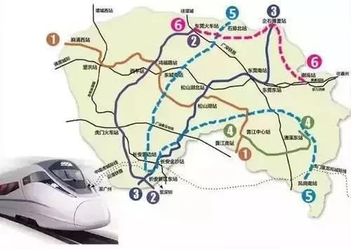 东莞拟7条地铁对接广深两成,助力珠三角一体化!