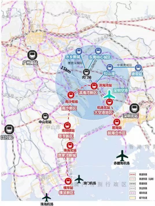 海陆空交通网络