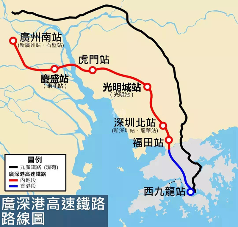 【湾区利好】粤港澳大湾区地铁线路规划曝光!未来近100条线路将开工!
