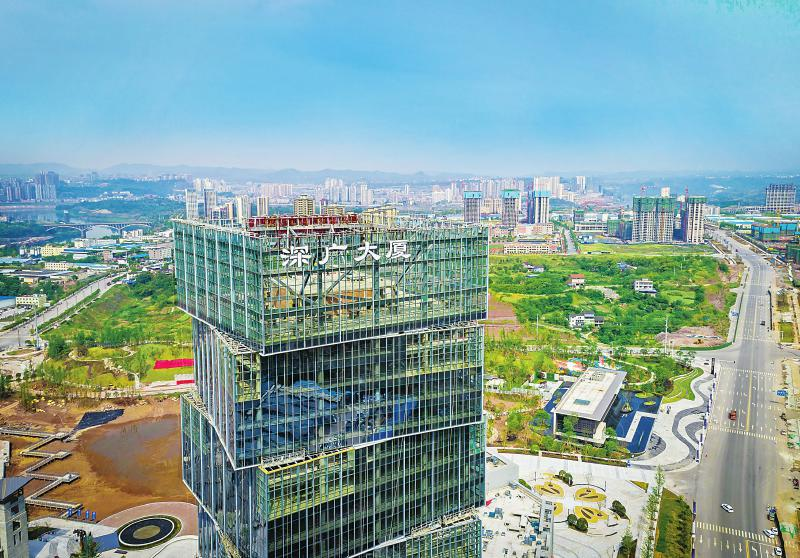 广安(深圳)产业园首期项目全面建成