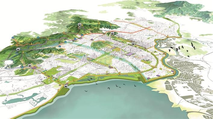 城市规划|深圳福田区整体城市设计中期成果出炉 系20年后重新规划