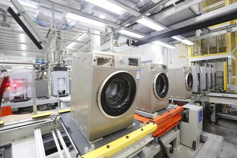 津海尔洗衣机互联工厂生产线.jpg