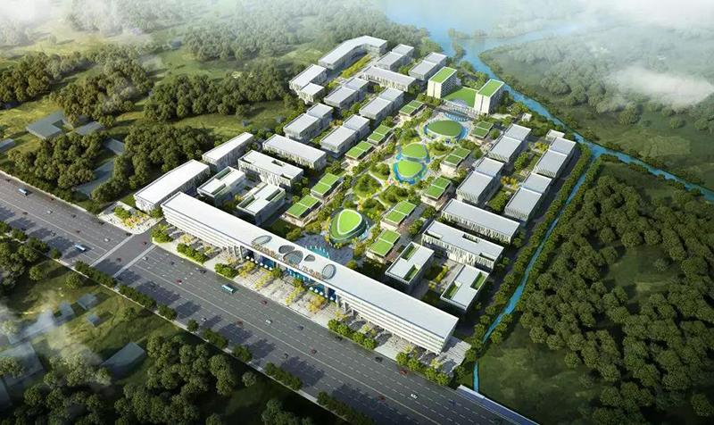 国科健康(东乡)产业园俯瞰效果图.jpg