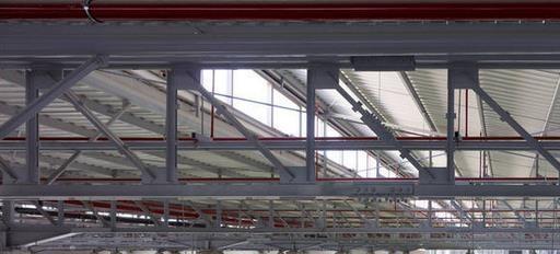 厂房钢结构吊顶效果图