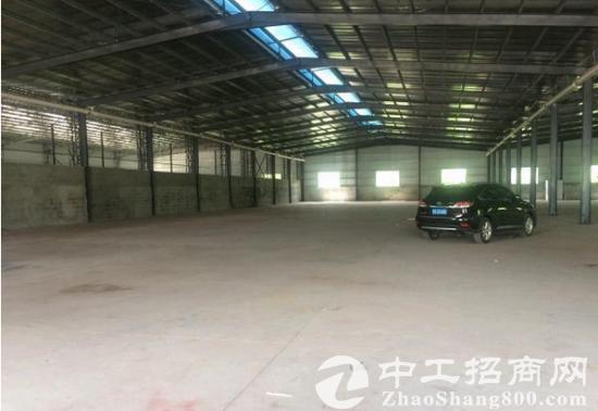 常平独院单一层钢构厂房3000平方出租