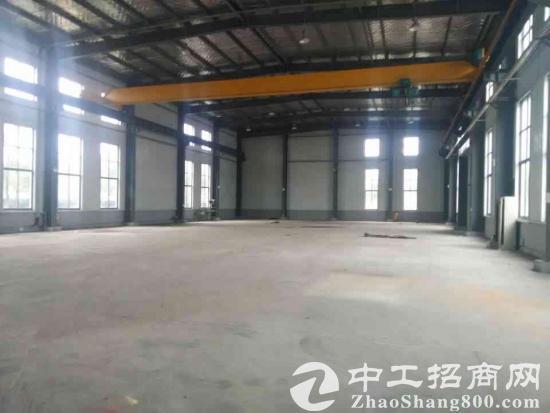 昆山高新区单一层5200厂房出租,可架行车