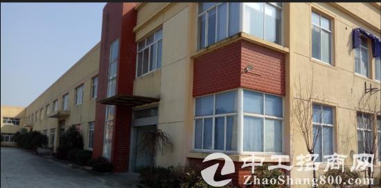 周市陆杨高速路口附近单层独栋火车头标准厂房2700平米招租
