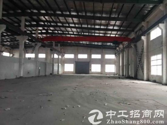 昆山高新区独院单层航车厂房2400平米超低价出租