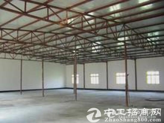 桥头超靓单一层钢构厂房,1100平米,宿舍500