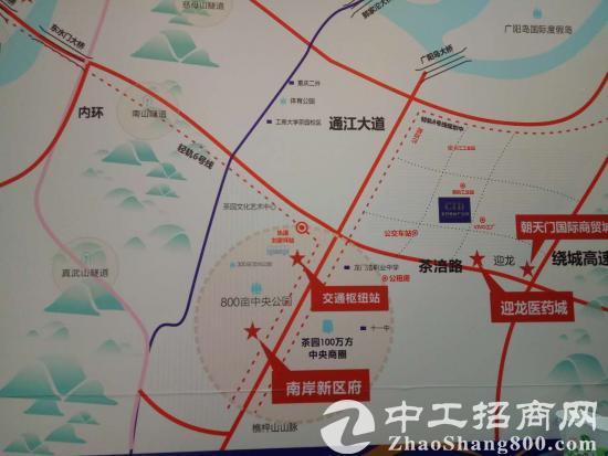 新朝天门国际商贸城旁厂房出售面积300-1800-16400