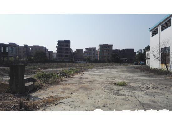 广东肇庆市100亩国土证工业用地出售