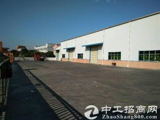 大朗新出标准钢构厂房5500平方招租