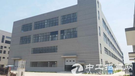 松江车墩104地块全新单层5000平行车架好5吨环氧地坪新