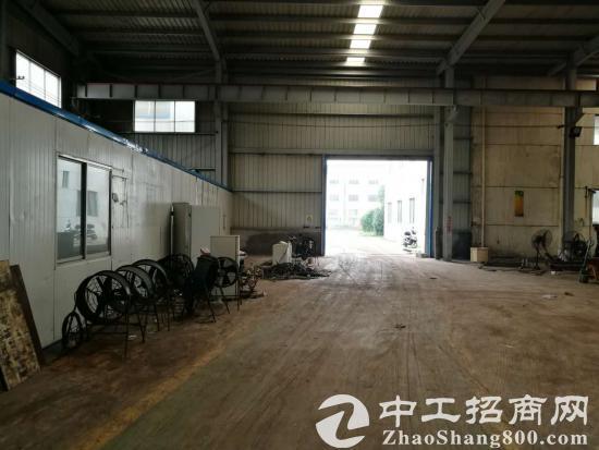 胡埭8亩国土独门独院机械厂房,6部行车独立变压器
