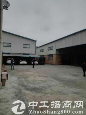 沙田镇铁皮厂房面积700平方,租金便宜空地大