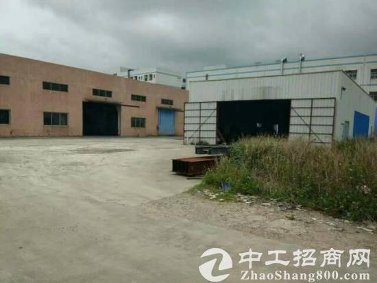 大朗镇刚出空地超大独院钢构厂房