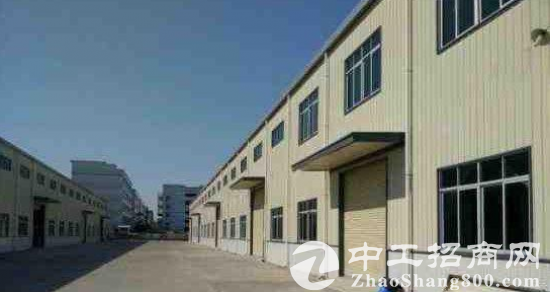 博罗禾山钢构厂房1500平米带(办公室)
