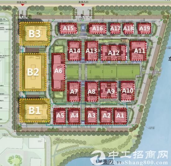 上海周边城市 嘉善上海人才创业园出租500平起招商-图2