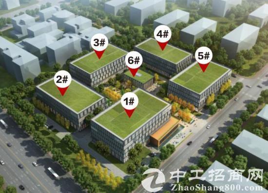 上海1小时经济圈 传感园设备产业园研发楼办公楼出租-图3