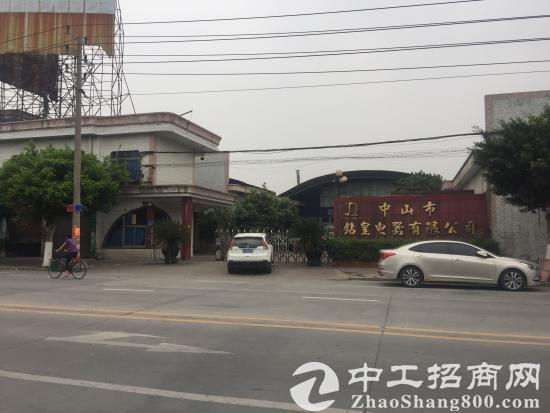 中山黄圃工业厂房25米大路边可做商业用途或商场-图2