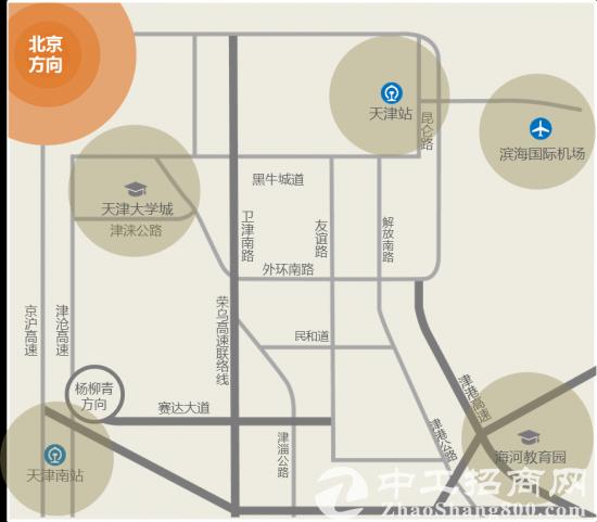 西青开发区自持厂房,多种面积,政策支持-图3