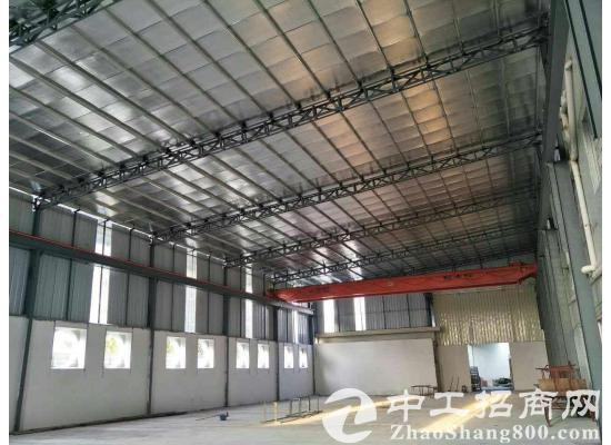 东莞市凤岗镇原房东独栋墙切钢构2300平方出租。带三部三顿航