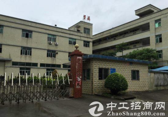 黄江田美新出标准一楼厂房1300平出租带水电装修交通方便