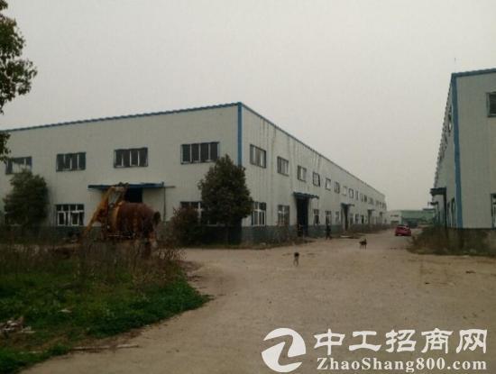 出租钢结构厂房8000平 配 1200平办公楼