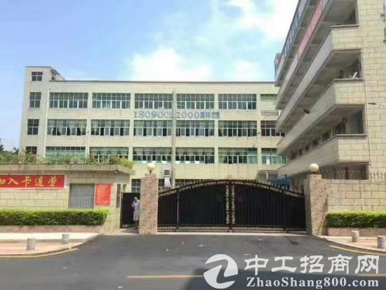 黄江田心大型工业区新出楼上950平带精装修厂房