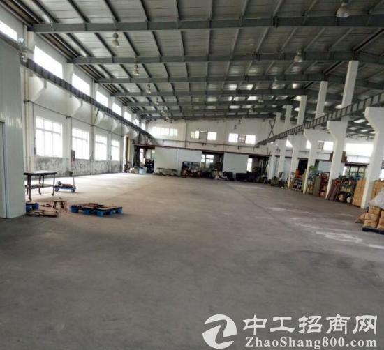 秀洲1300平单层钢结构厂房出租