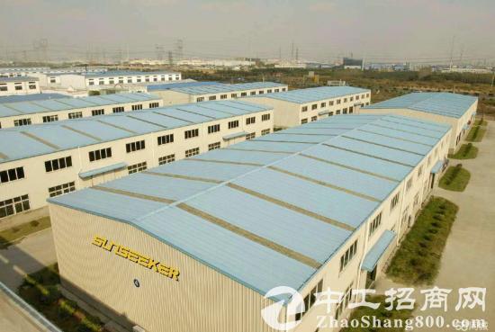 松江独栋单层厂房,1300平出租,产证齐全,可环坪
