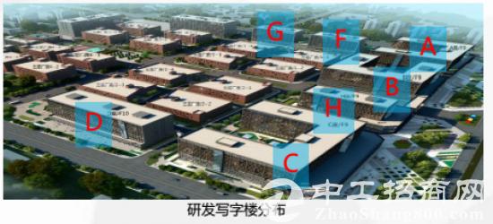 武汉临空经济区华融芯空港产业园厂房办公室出售