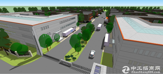 300亩5亩一块独立产权工业用地招商 租厂房不如买厂房-图3
