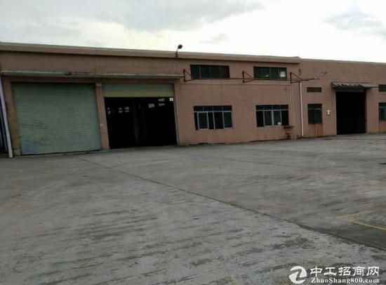 石碣单一层钢构厂房出租1300平米