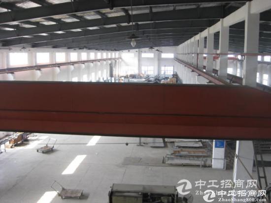 湖州德清九成新厂房招租 有牛角可吊机车