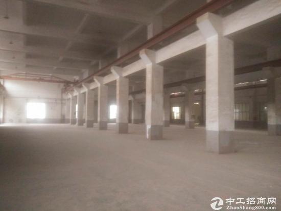 柘林104板块5500平标准厂房带行车可分割