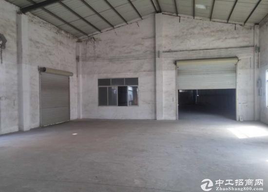 石碣九成新钢构厂房2200平米火热招租