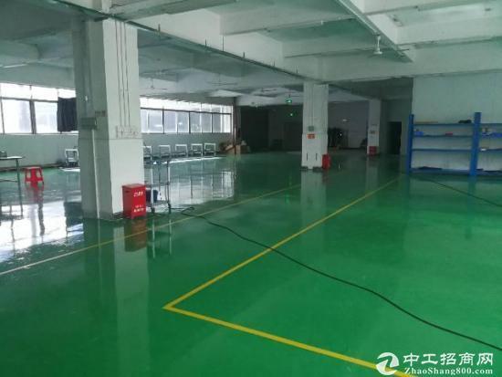 龙岗爱联地铁站一楼标准厂房1200平带装修,可分租-图7