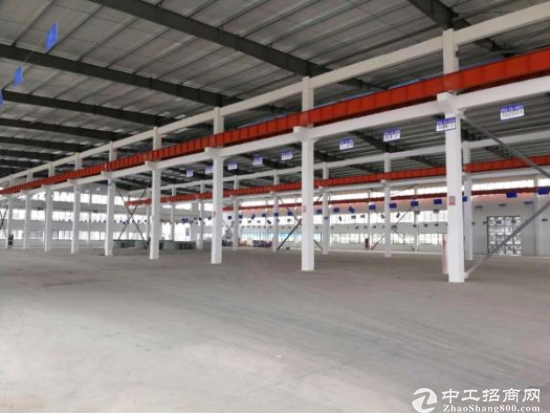出租杭州周边仓库厂房4600平米 钢结构层高9米-图2
