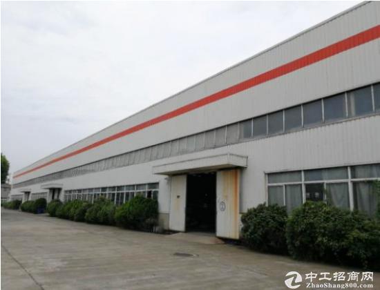 杭州周边 湖州德清独院单层厂房6800平方招租