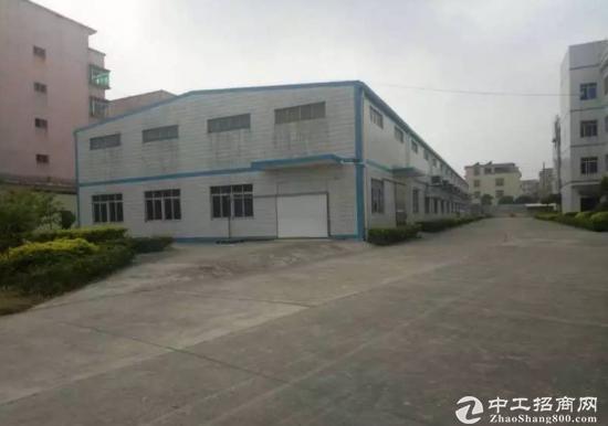 厚街环城路独院钢构厂房仓库3500平米带卸货平台招租