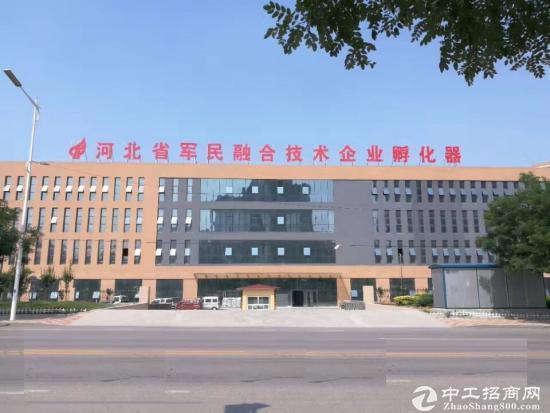 鹿泉区河北省军民融合技术企业孵化器厂房招租