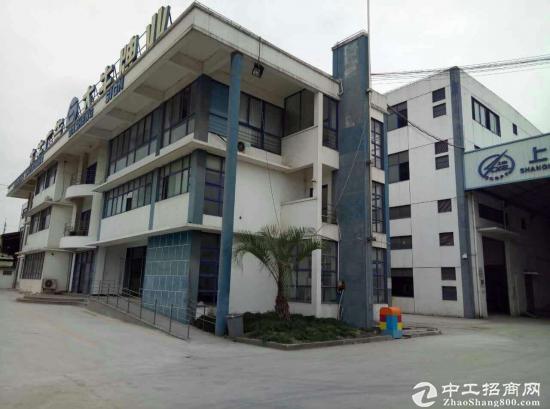 重固镇104块地独栋3层12000平厂房出租 可分割 可生产