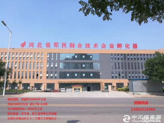 河北省军民融合企业孵化器厂房招租