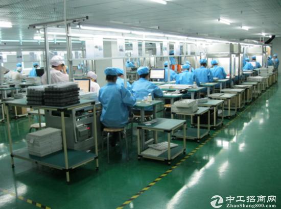 西丽镇阳光社区军威物业4700平精装厂房装修-图3