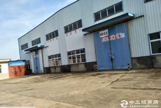出租独门独院4500平米钢结构厂房