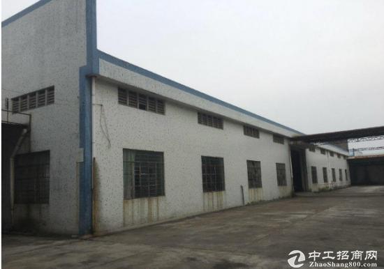 出租简易钢构面积1400方,黄江厂房