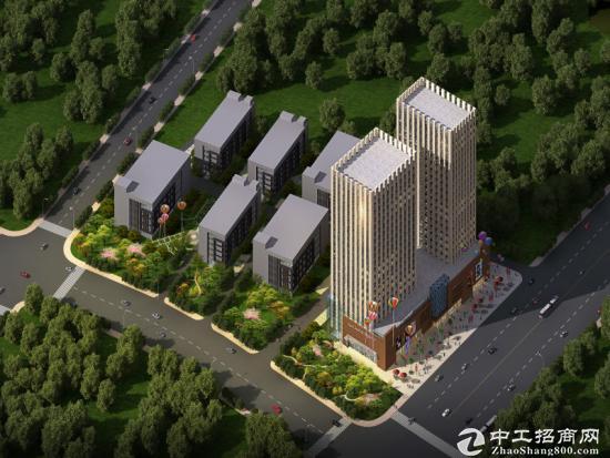 武汉市东西湖区方圆国际产业园4200㎡ 全新工业厂房租/售